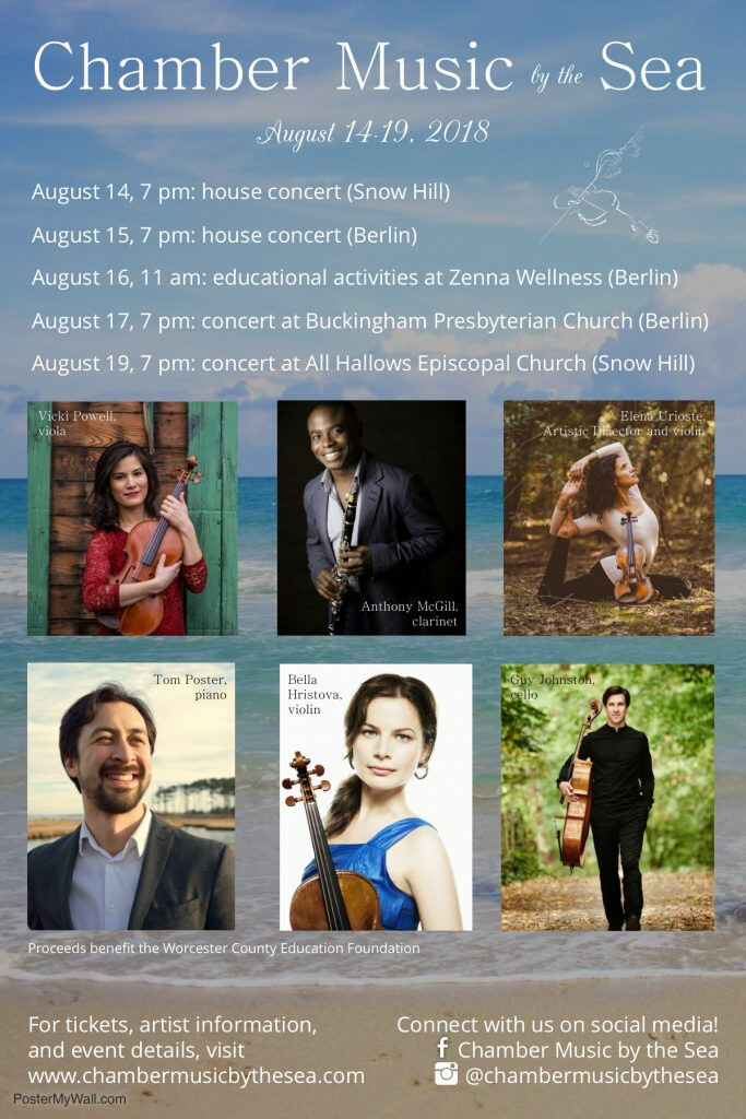 Chamber Music by the Sea - Classical Music Concert